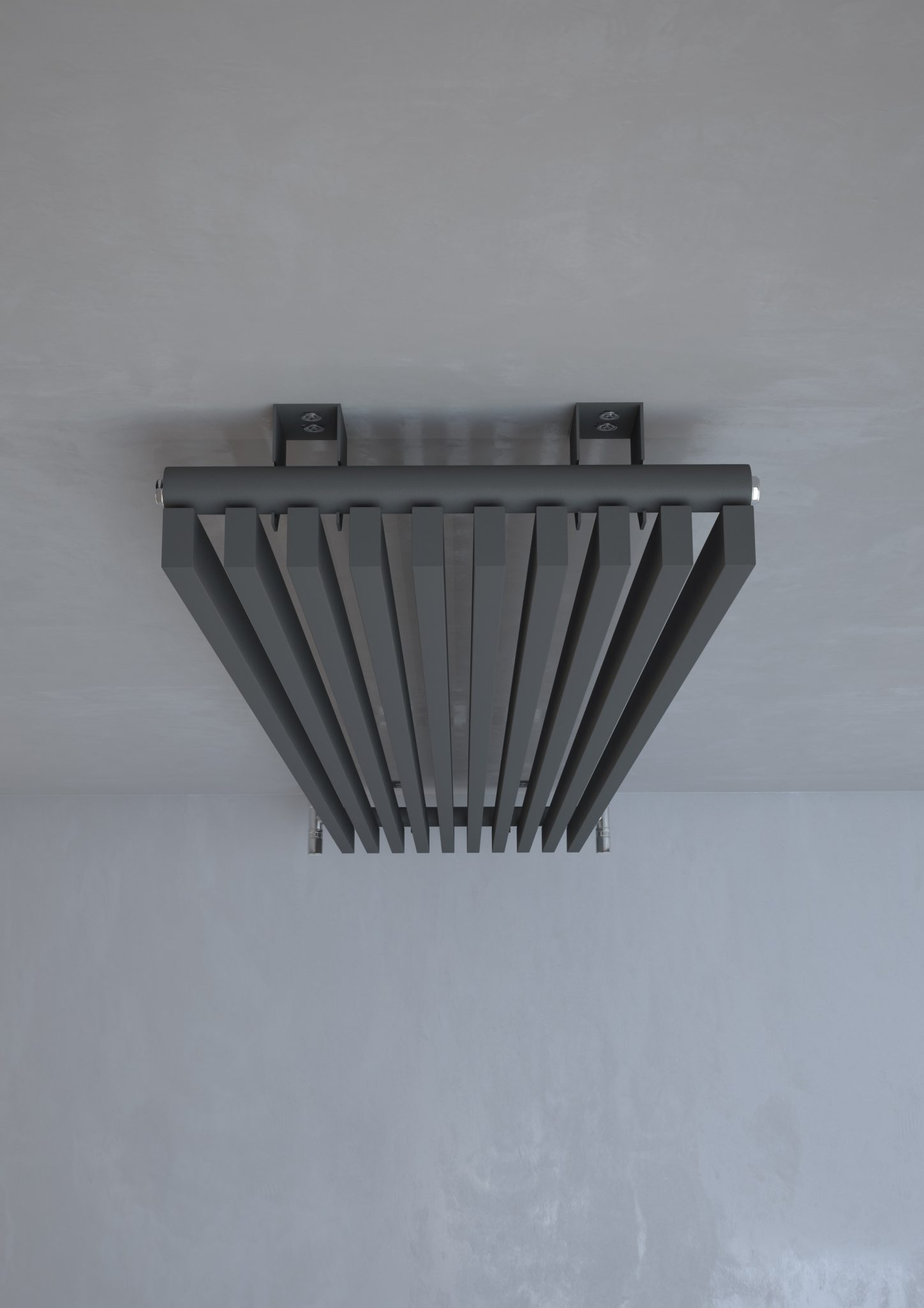 Kudox Xylo Radiator 1800mm X 380mm Anthracite Installers