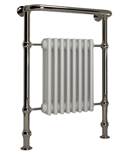 5060235343520 Kudox Traditional Towel Rail Victoria Midi 675mm x 952mm Chrome CO 1