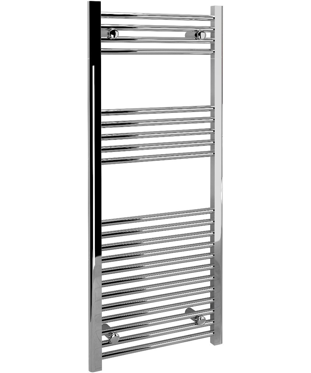 5060235344503 Kudox TradeX Towel Rail Straight 500mm x 1200mm Chrome IH 1
