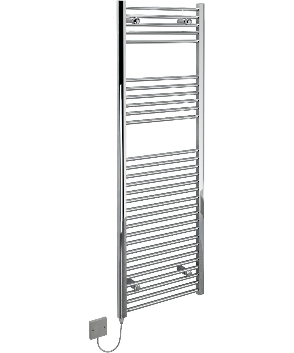 5060235346163 Kudox Electric Towel Rail Straight Standard 500mm x 1500mm Chrome IH 1