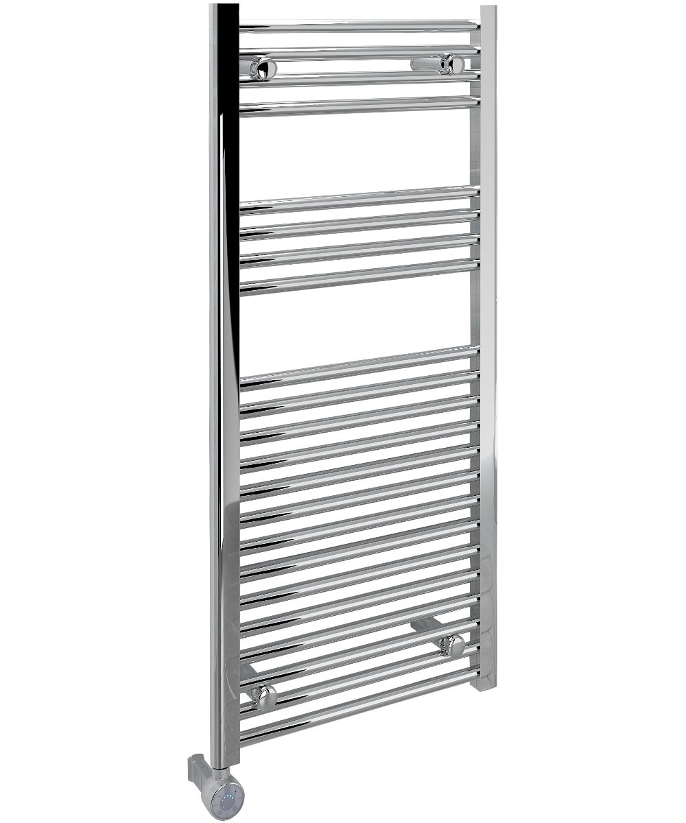 5060235347504 Kudox Electric Towel Rail Straight Thermostatic 500mm x 1100mm Chrome IH 1