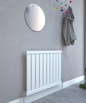 5060235347542 Kudox Elmas Radiator 600mm x 810mm Satin White IS1