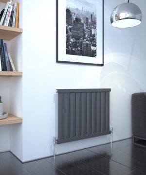 5060235347559 Kudox Elmas Radiator 600mm x 810mm Anthracite IS1