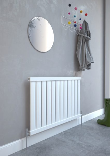5060235347566 Kudox Elmas Radiator 600mm x 970mm Satin White IS1