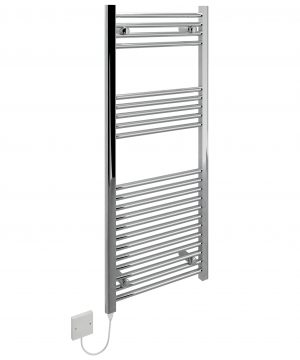 5060235348976 Kudox Electric Towel Rail Straight LST 500mm x 1200mm Chrome