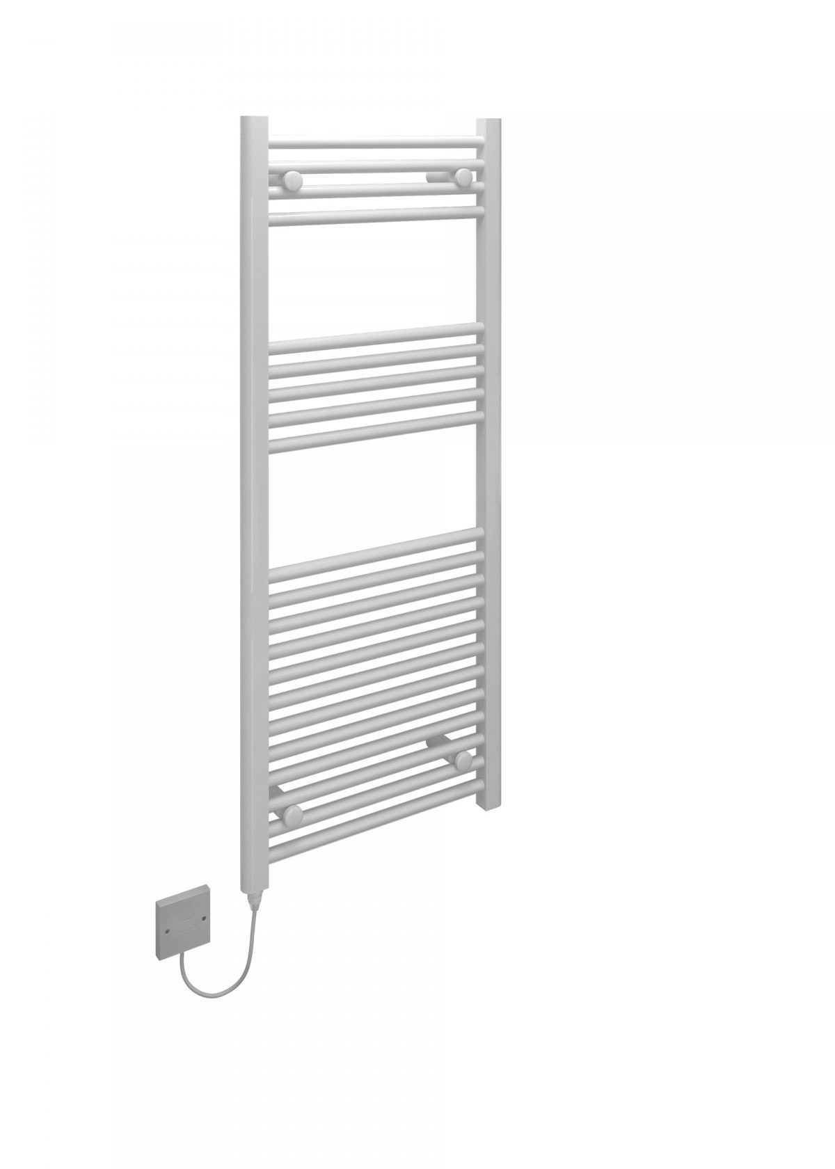 5060235349140 Kudox Electric Towel Rail Straight Standard 500mm x 1200mm White CO e1515505444431