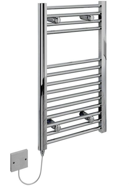 electric only installation  of a towel rail