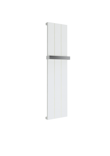 5060235349300 Kudox AluLite Flat Towel Rail 295mm x 1150mm Textured White CO e1524566673979