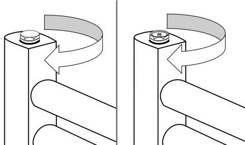 Airbleed Blank plug