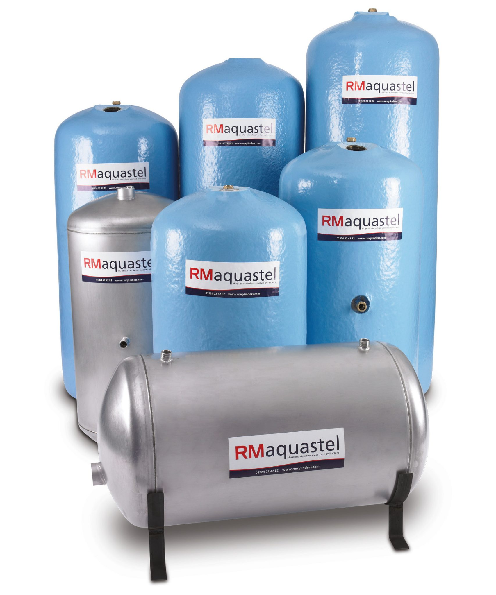 RM Aquastel 450 Vented Direct Duplex Stainless Steel Cylinder ...