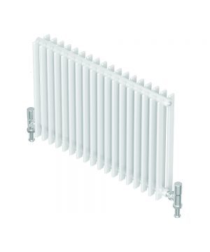 Barlo Radiator Adagio Horizontal DOUBLE D35 white