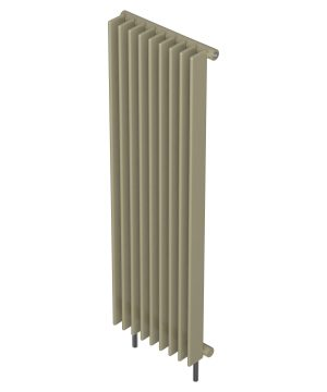 Barlo Radiator Adagio Vertical Single S70 Champayne