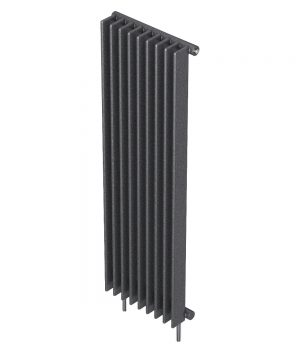 Barlo Radiator Adagio Vertical single S70 Gun metal 1