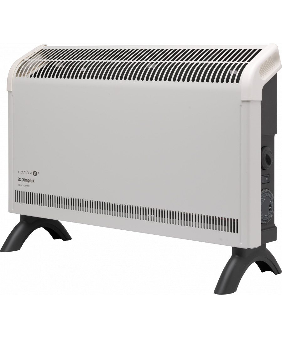 Convector Heaters 2kW Contrast Convector Heater with Timer DXC20Ti 0 0