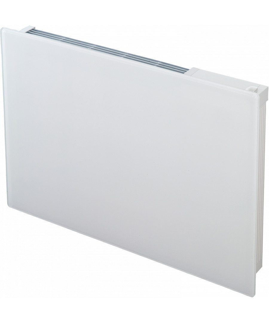 Girona white glass panel heater 0