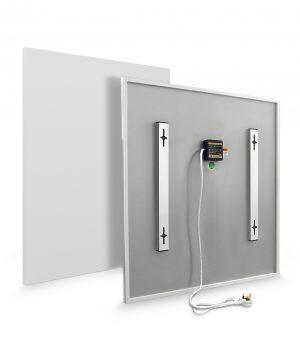 Infrared heater frameless 600 x 600 Installers Hub