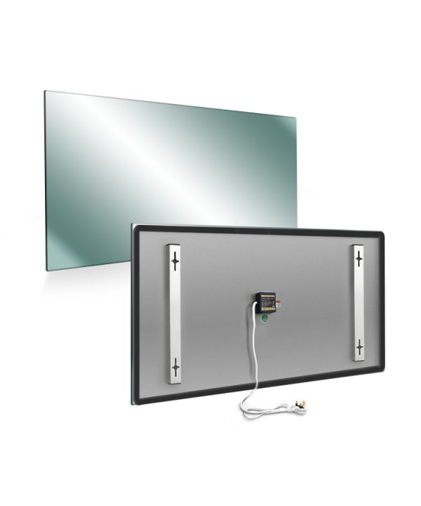 Infrared mirror 600x1000 back front Installers Hub