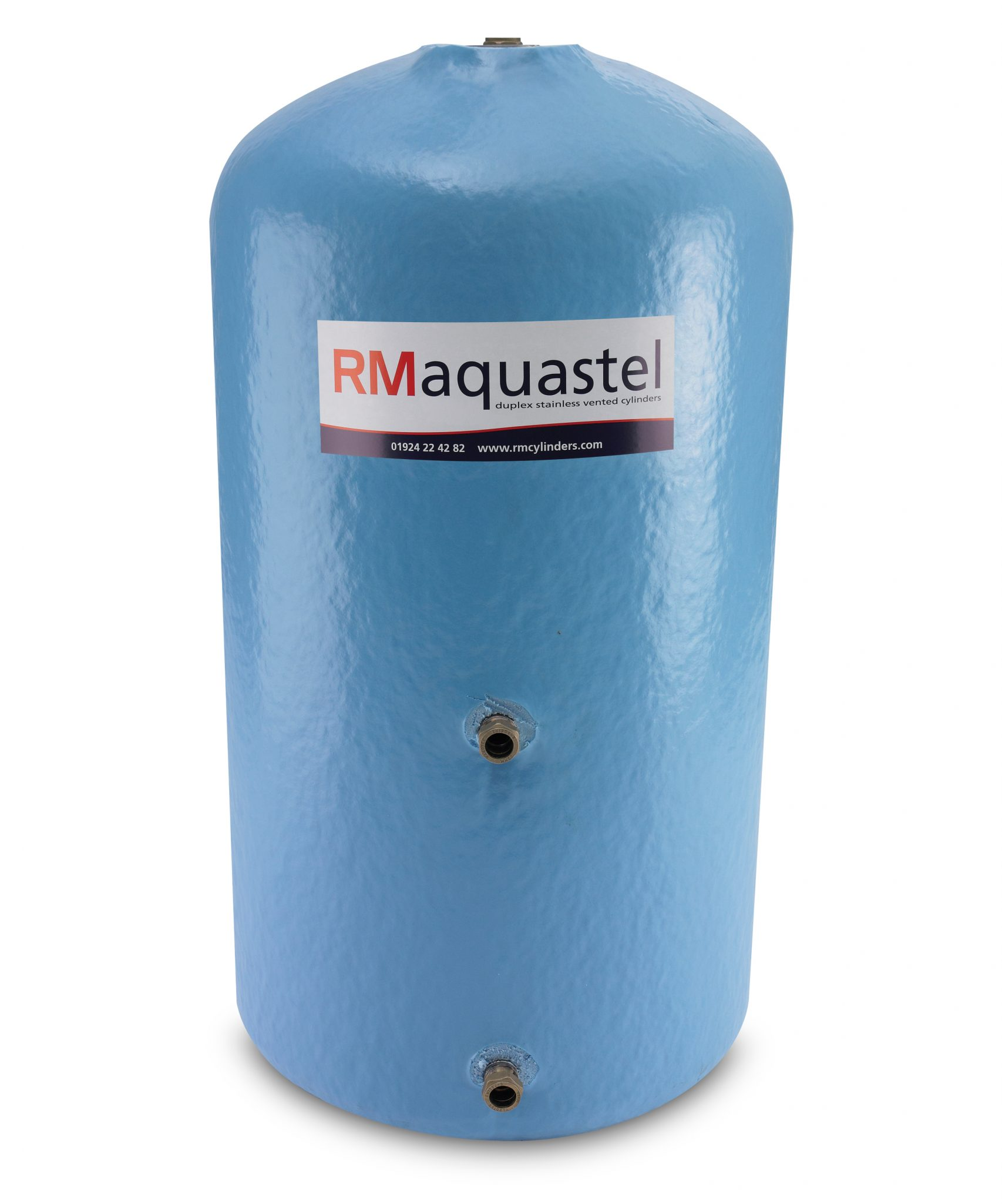 RM Aquastel 500 Vented Indirect Duplex Stainless Steel Cylinder ...