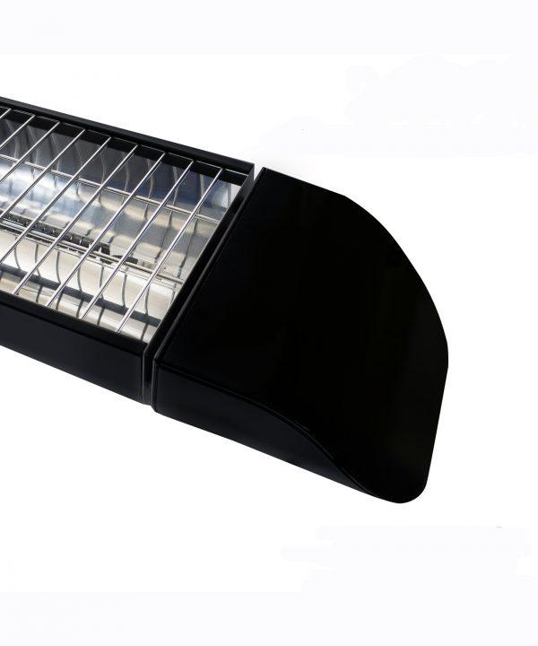 MirrorStone Aurora Infrared Patio Bar Heating detail
