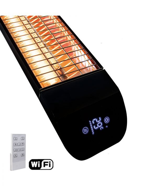 MirrorStone Aurora Remote Controllable Infrared Patio Bar Heating detail