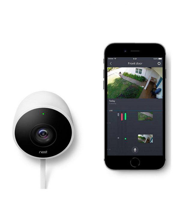 NEST Cam Outdoor app