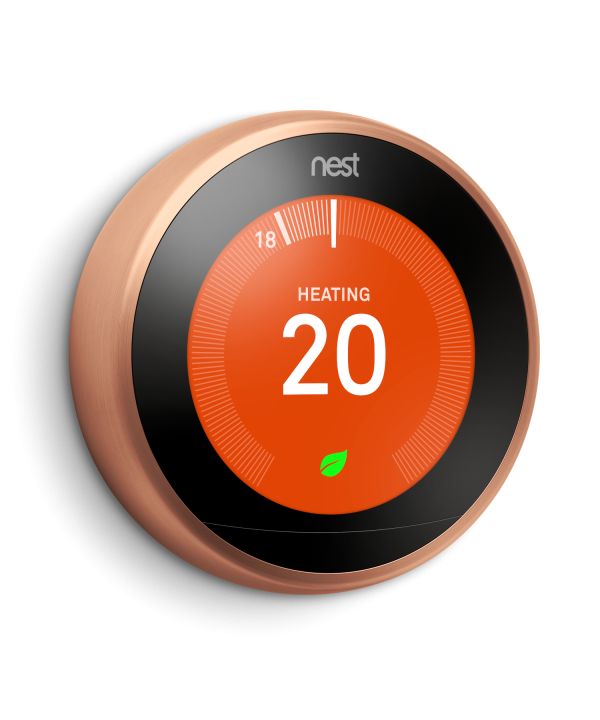 NEST Learning Thermostat Cooper