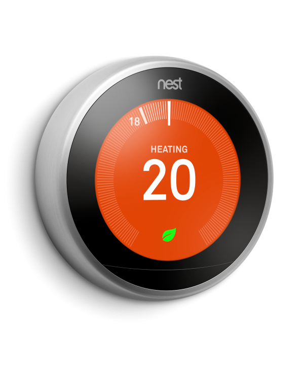 NEST Learning Thermostat Silver