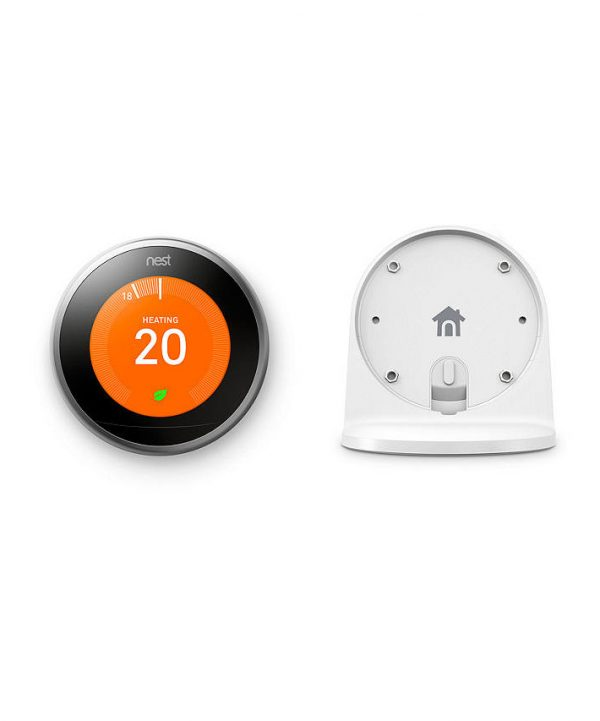 NEST Stand for Learning Thermostat white