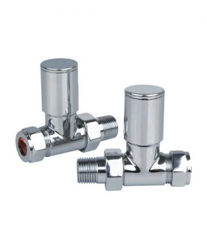 Portland Chrome Straight Valve