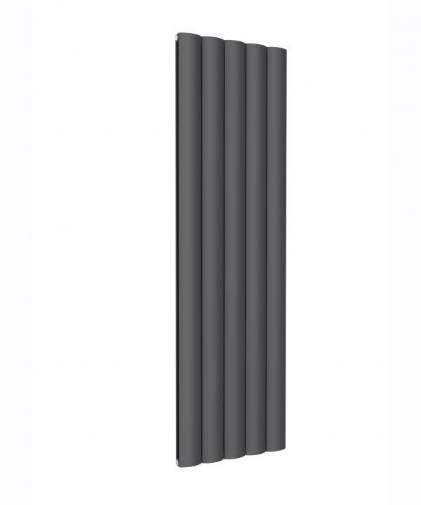 Reina BELVA Aluminium Vertical Double Designer Radiator ANTHRACITE 1800X516