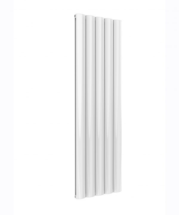 Reina BELVA Aluminium Vertical Double Designer Radiator WHITE 1800X516