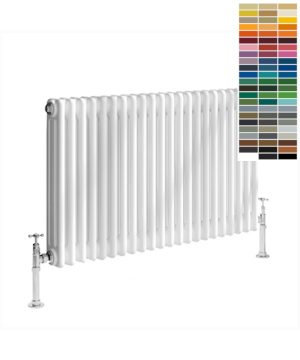 Reina COLONA Column Horizontal Designer Radiator white