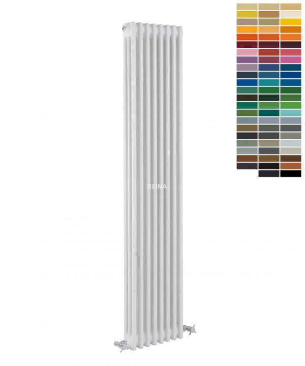 Reina COLONA Column Vertical RAL Colour Radiator