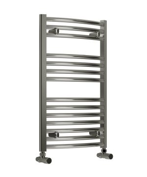 Reina DIVA Curved Towel Rail 500 x 800