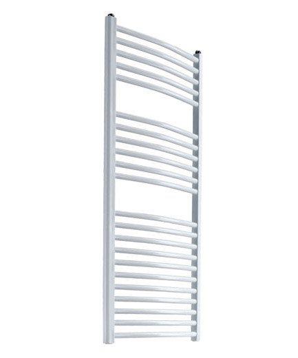 Reina DIVA Curved Towel Rail white
