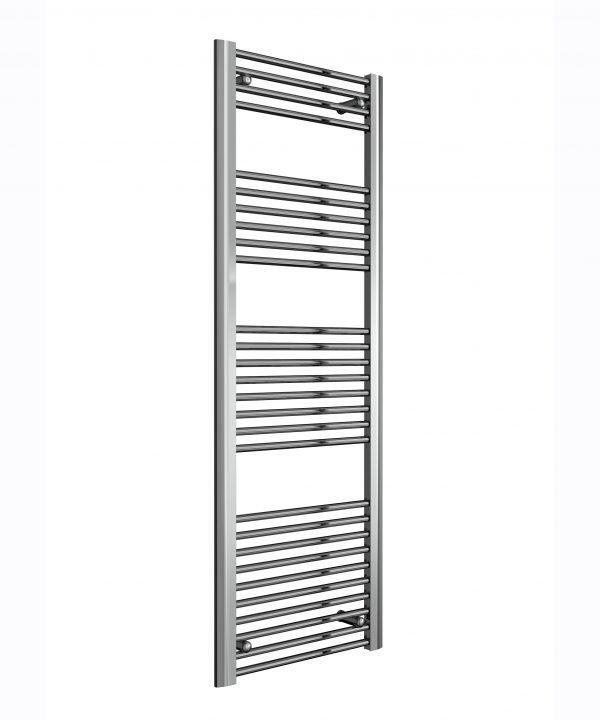 Reina DIVALE Aluminium Towel Rail Designer Radiator CHROME 1480