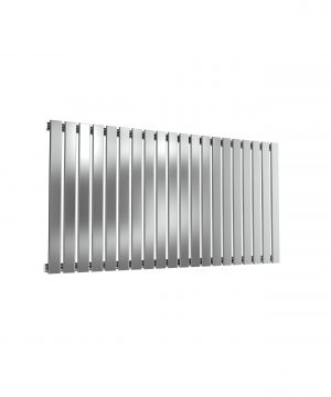 Reina FLOX Stainless Steel Horizontal Designer Radiator POLISHED 600X1180 SINGLE