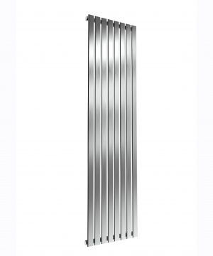 Reina FLOX Stainless Steel Vertical Designer Radiator SATIN 1800X472 SINGLE
