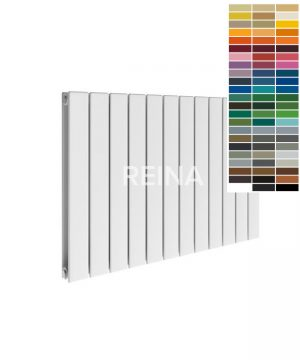 Reina Flat Steel Horizontal RAL Colour Radiator