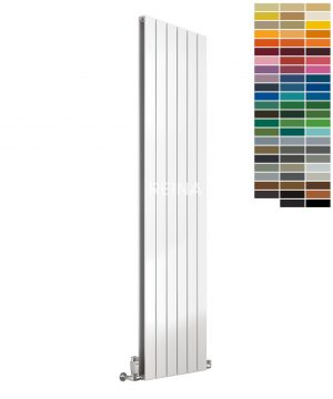 Reina Flat Steel Vertical Single RAL Colour Radiator