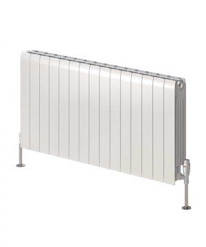 Reina MIRAY Aluminium Horizontal Designer Radiator white