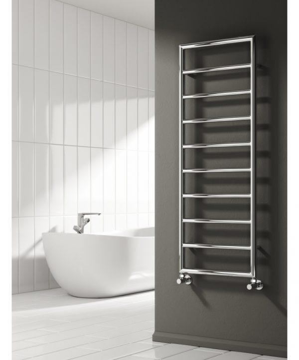 Reina NARDO Steel Towel Rail Designer Radiator Installers Hub