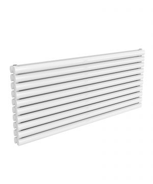 Reina NEVAH Steel Double Panel Designer Radiator WHITE 590X1400