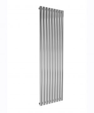 Reina NEVAL Aluminium Vertical Designer Radiator CHROME SINGLE 1800X522