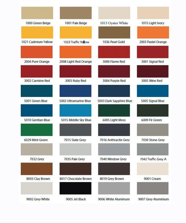 Reina RAL Colour Radiators
