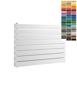 Reina RIONE Steel Horizontal Double RAL Colour Radiator