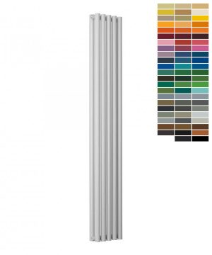 Reina ROUND Steel Vertical RAL Colour Radiator