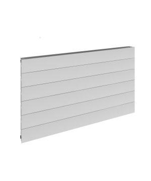 Reina VENO Aluminium Horizontal Designer Radiator white