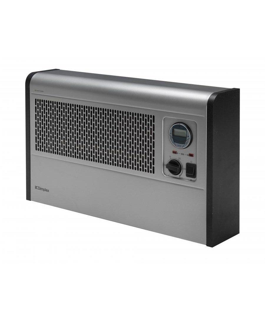 Silver wall fan convector 0