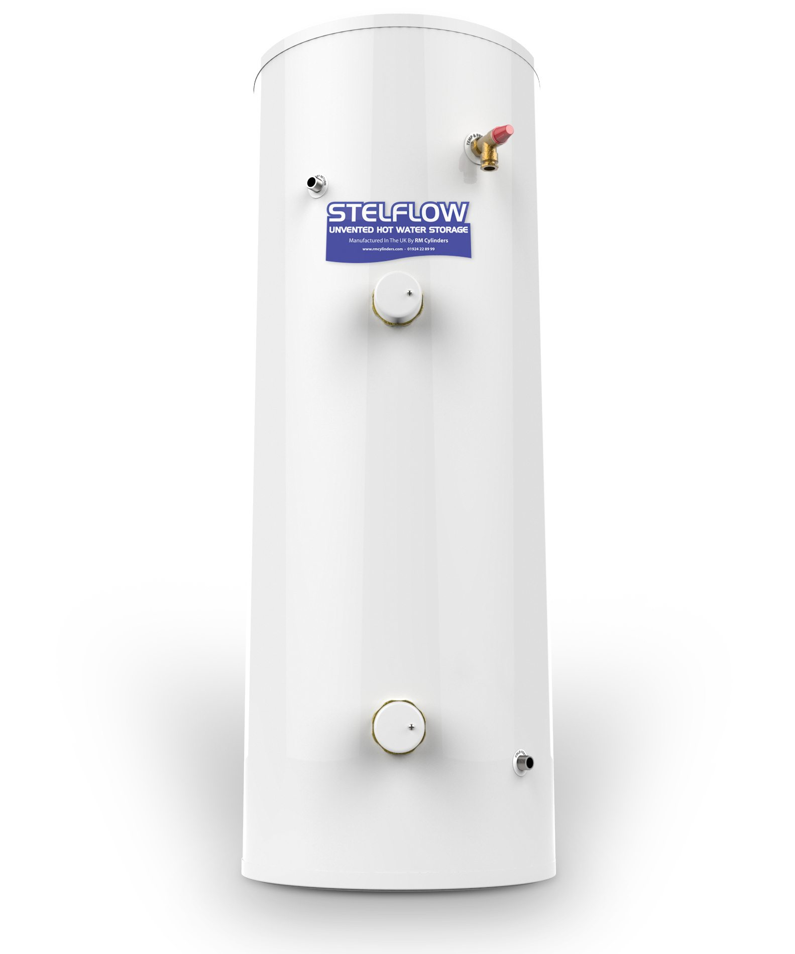 RM Stelflow Unvented Direct Cylinder - Installers Hub Online Shop